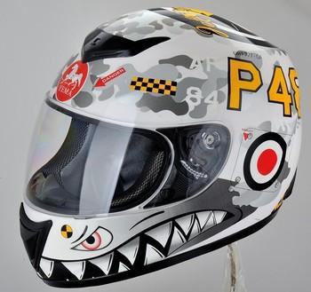 Ym Costom Full Face Motorcycle Helmet Decals Casco Motor - Custom motorcycle helmet decals