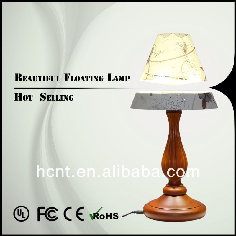 New Invention ! Electromagnetic levitating table light, reading lamps with light radio charger