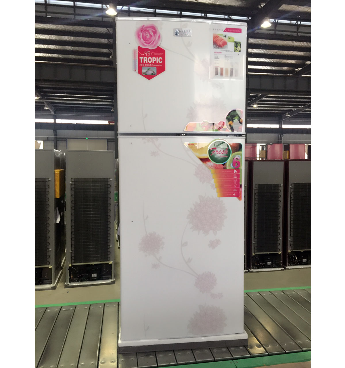 Home appliance BCD-470 top freezer geladeira de porta dupla na china facotry