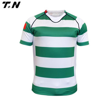 Cheap plain team rugby jersey wholesale