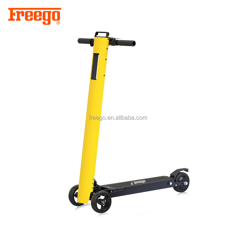 Freego fashion Design patent high quality 3 wheels mobilty <strong>electric</strong> scooter