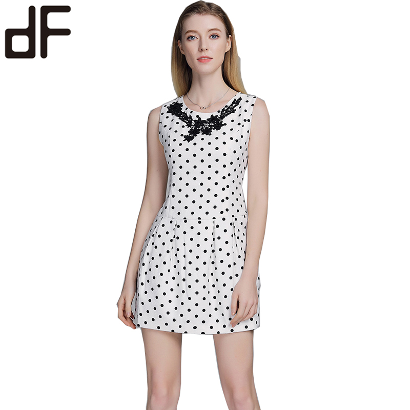 custom oem latest new design fashion party prom women <strong>skater</strong> <strong>dress</strong> sleeveless polka dot tutu <strong>lace</strong> cocktail <strong>dress</strong>