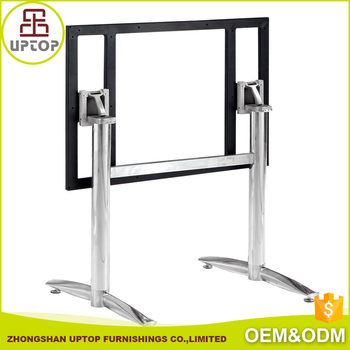 Commercial Furniture Stainless Steel Metal Legs Folding Metal Picnic - Stainless steel picnic table