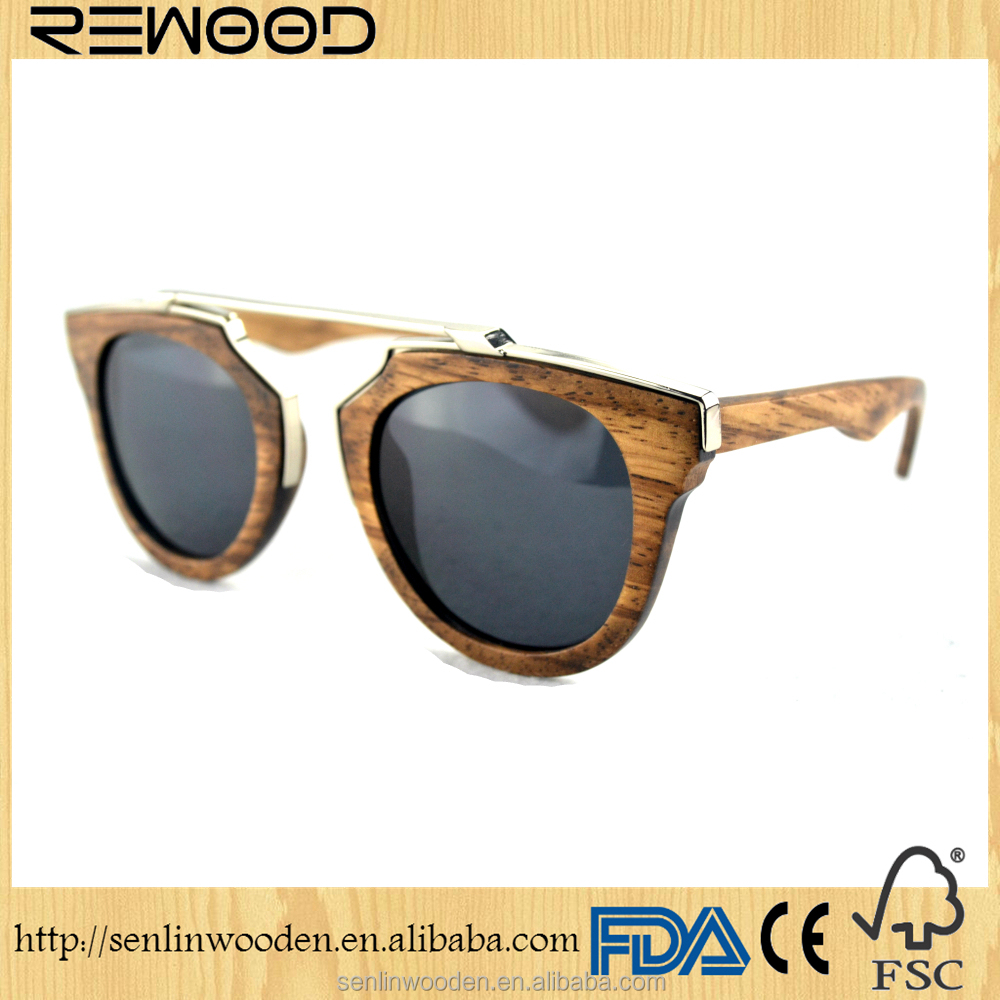 hot sale high quality export wood sunglasses polarized