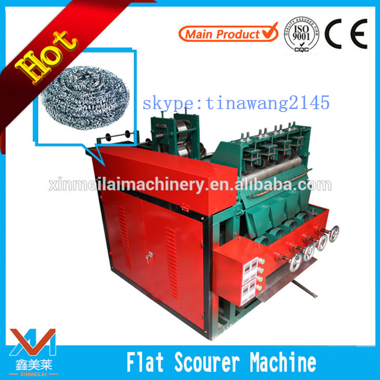Best-Selling fours heads scourer making machine, cleaning ball making machine from China