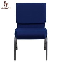 Wholesale connecting cheap modern stackable chair used church chairs