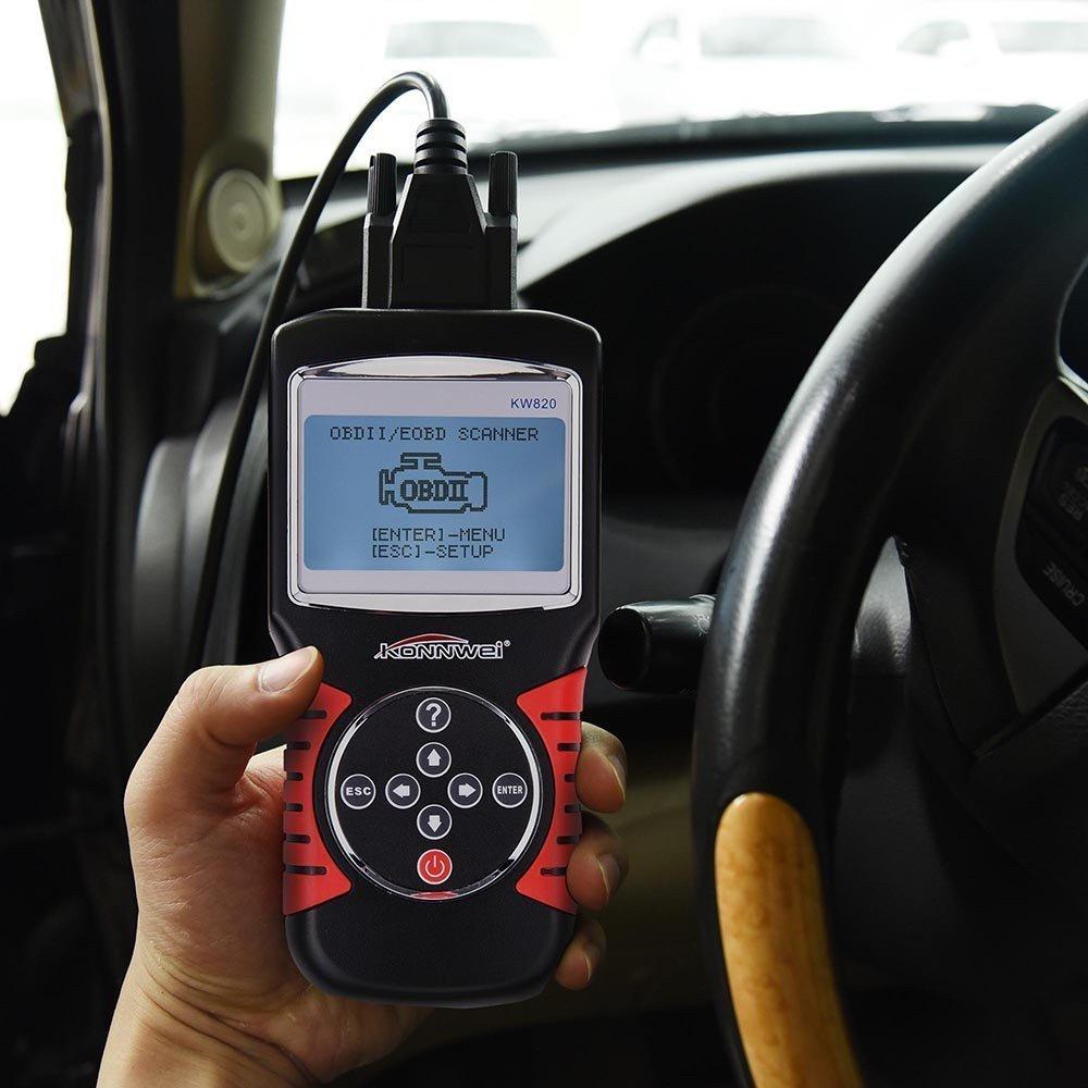 Konnwei Kw820 Automotive Scanner Obd2 Eobd Diagnostic
