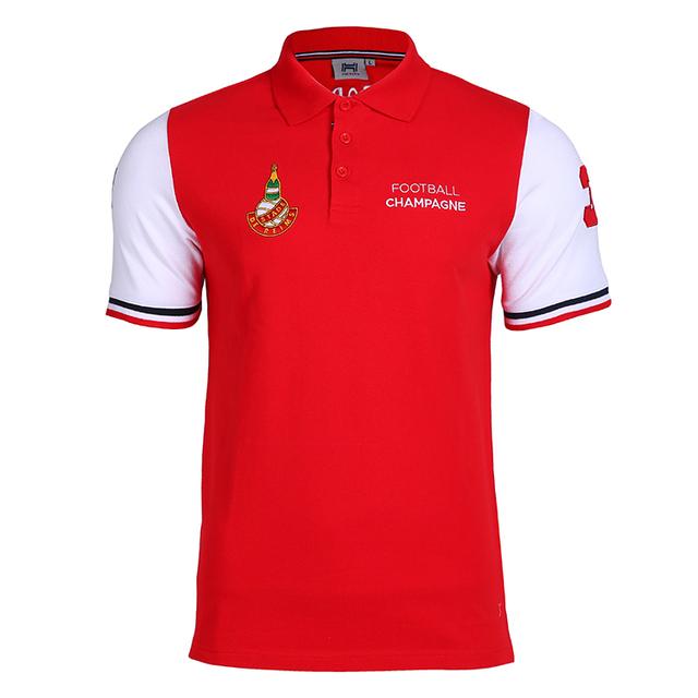 334c173e8833 2017-2018 Custom Embroidered Logo High Quality Short Sleeve 100% Cotton Polo  Shirt