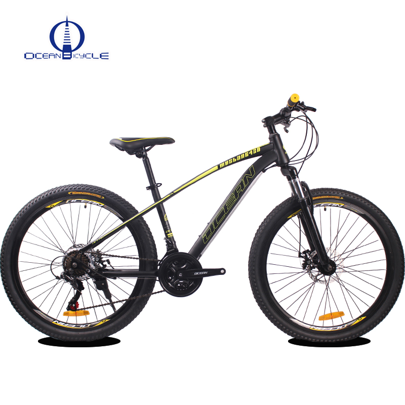 26 inch Hi-ten Steel Frame and Suspension fork MTB 21 speed Disc brake Mountain bike <strong>cycle</strong>