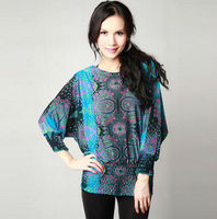 2013 LADIES FASHIONABLE ELASTIC SILKE BLOUSE