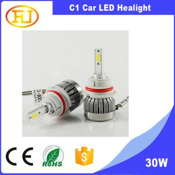 Hot Sell Automotive Car C1 9007 Hb5 Led Headlight 12v 30w 3000lm Bulbs Buy 9007 Led Headlight Led Headlight Bulb 9007 9007 Hb5 Led Headlight Bulbs