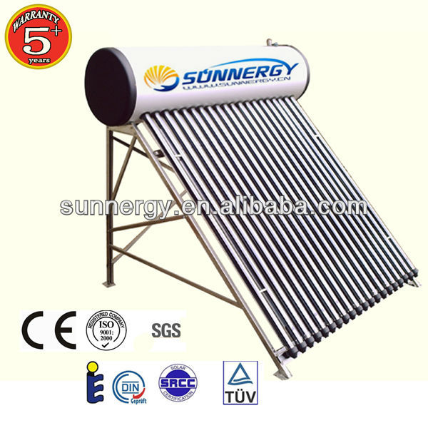 Free Standing Solar Water Heater Green Energy