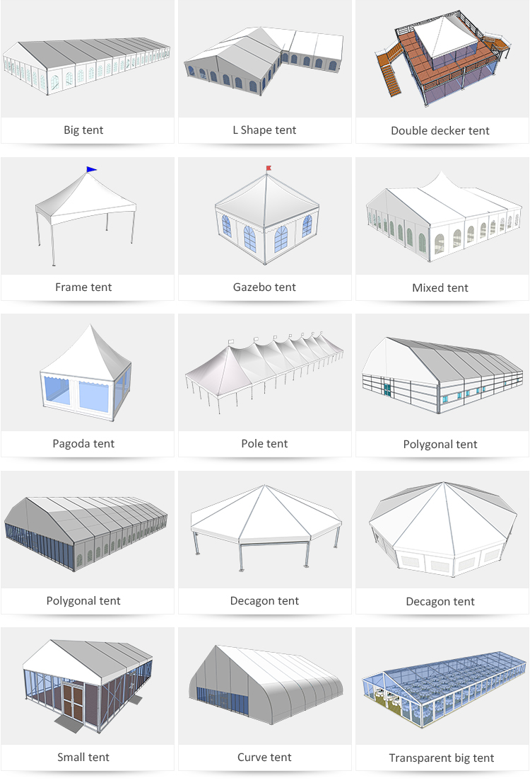good-package gazebo tent party long-term-use for engineering
