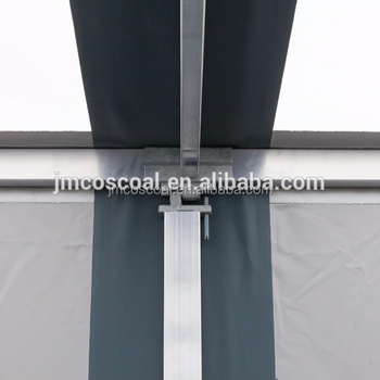 silver anodized 6000 series aluminium profile for truck body