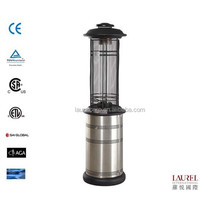 Round gas patio heater non retracatble power coated