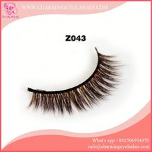 High quality colorful false eyelash extensions mink