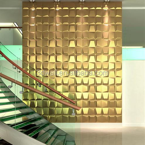 dalam ruangan dekoratif kertas dinding 3d wallpaper untuk