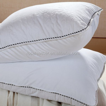 best quality super fluffy white goose down pillows