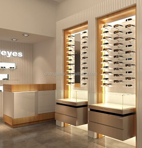 modern optical store furniture for retail store