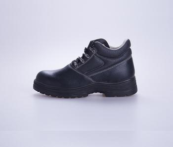 Hoge Werkschoenen Met Stalen Neus.Hoge Hals Chemische Slip Veiligheidsschoenen Stalen Neus En Plaat
