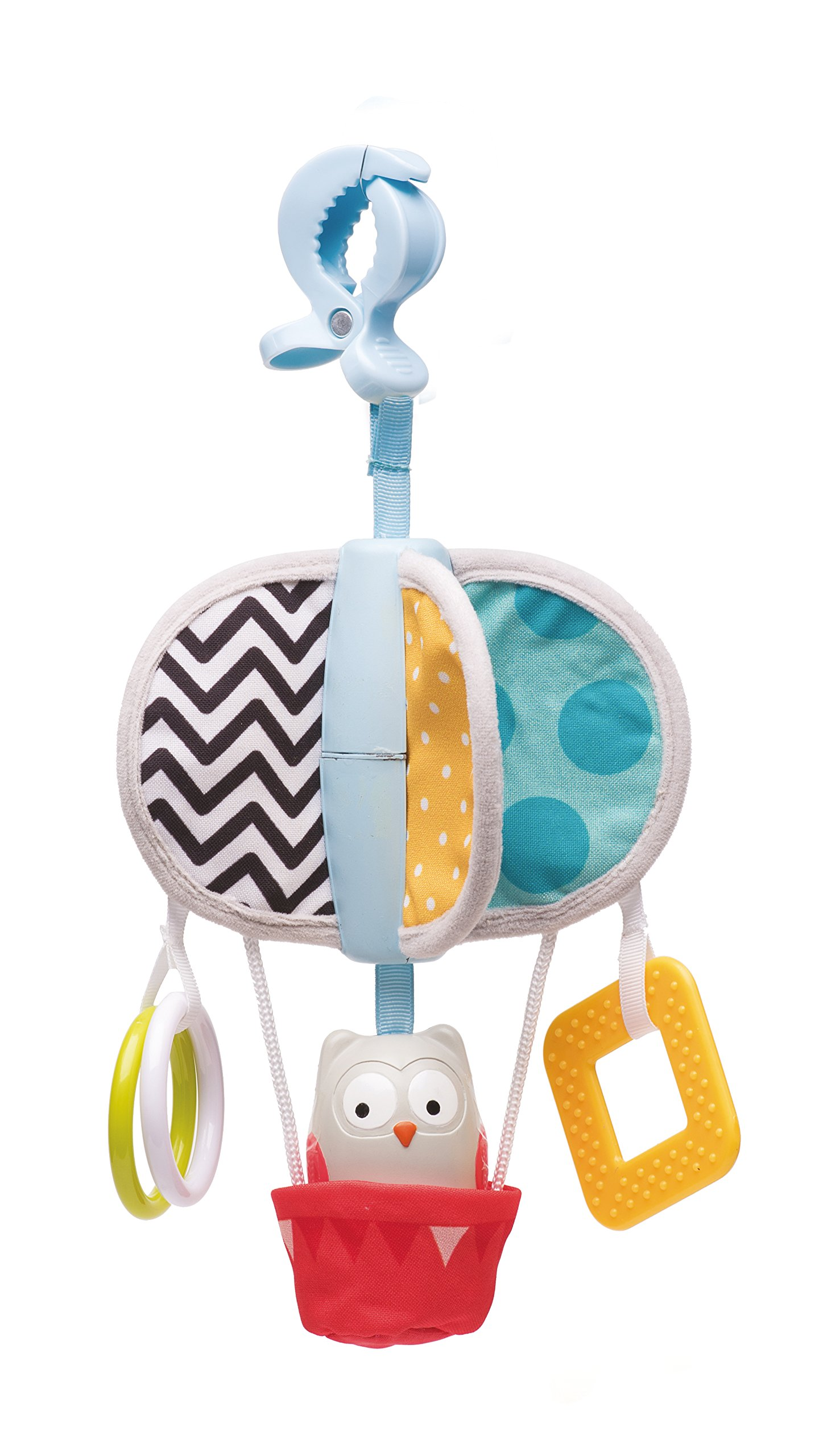 Taf Toys OBI The Owl Take Along Chime Bells Mobile | Early Development Baby Toy | for Baby's Car Seat or Stroller