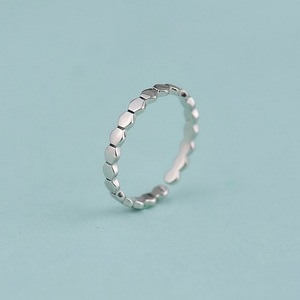 Yiwu wholesale factory direct top quality adjustable sterling silver 925 plain rings for girls