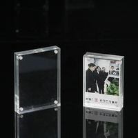 Custom made acrylic photo booth frame, small sign holders
