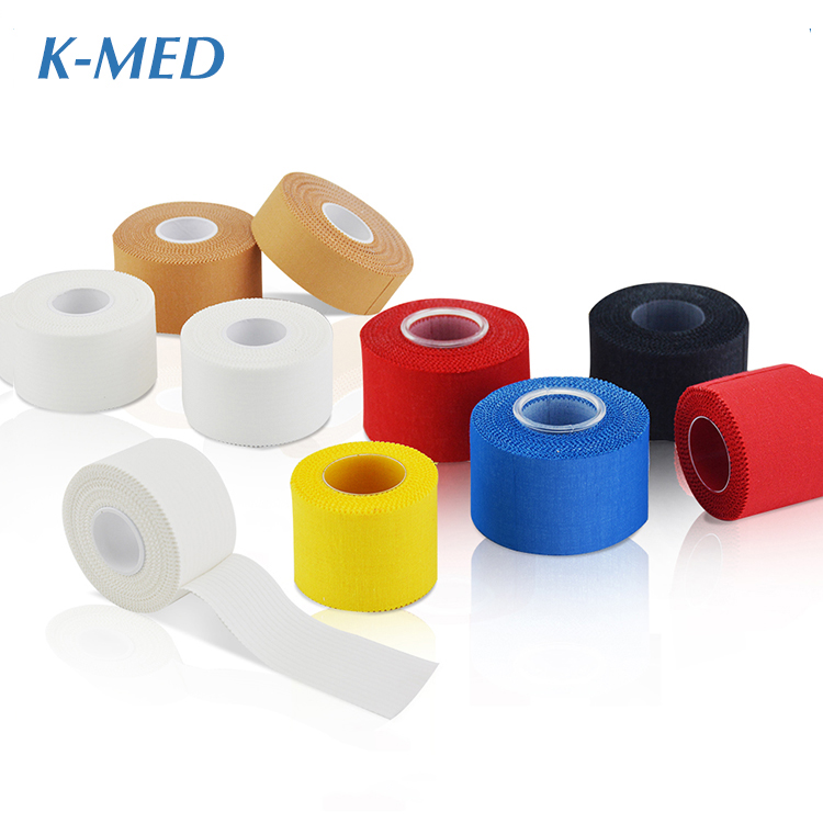 High quality factory 100% cotton Athletic Sports tape 3.8CM*9.14M фото