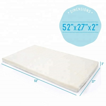 Standard Sizes Memory Foam Crib Mattress Topper Baby Bed Mattress