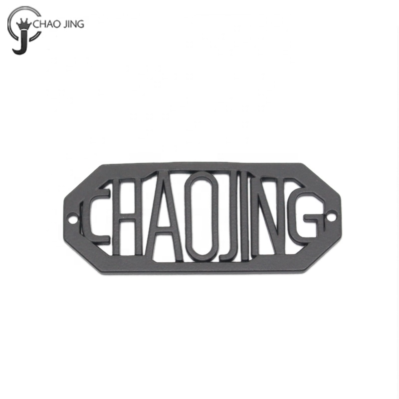 China wholesale hang metal tags labels accessories for tshirt/ men clothing/ men jeans