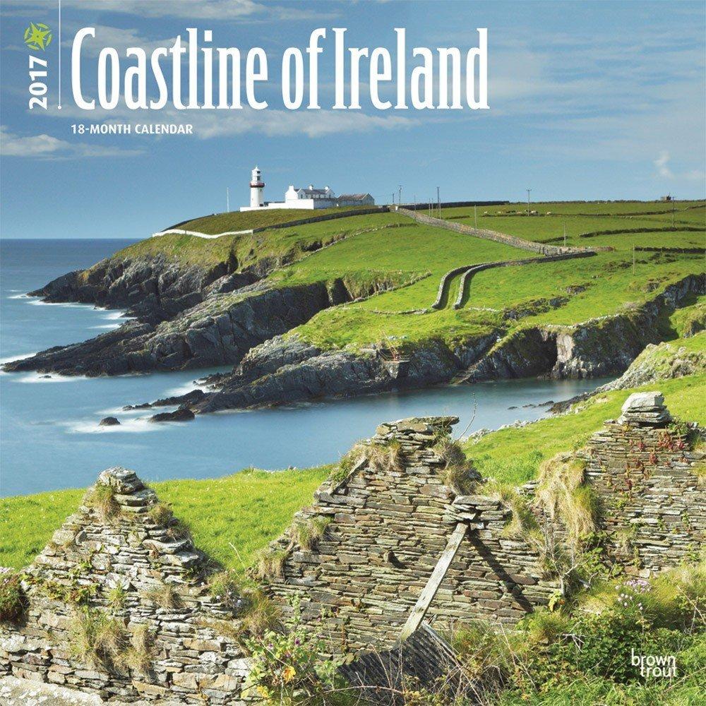 The Coastline of Ireland Wall Calendar 2017 {jg} Best Holiday Gift Ideas - Great for mom, dad, sister, brother, grandparents, , grandchildren, grandma, gay, lgbtq.
