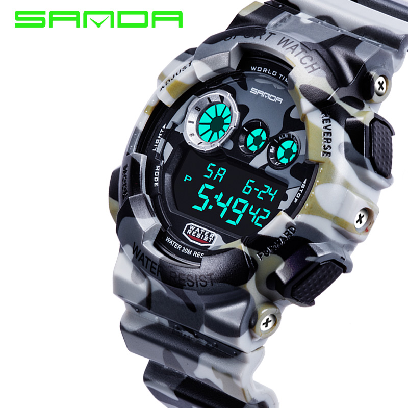 watches watch waterproof electronic sports outdoor lighting resistant com chronograph amazon dp children kids water for