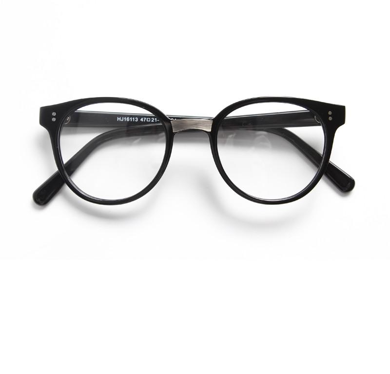 Glass Frames Online Prescription Glasses Round Eyeglasses - Buy ...