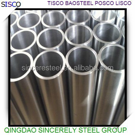 Stainless steel pipe grade 301 303 304 309 310 312 316 317 321 347 seamless tube