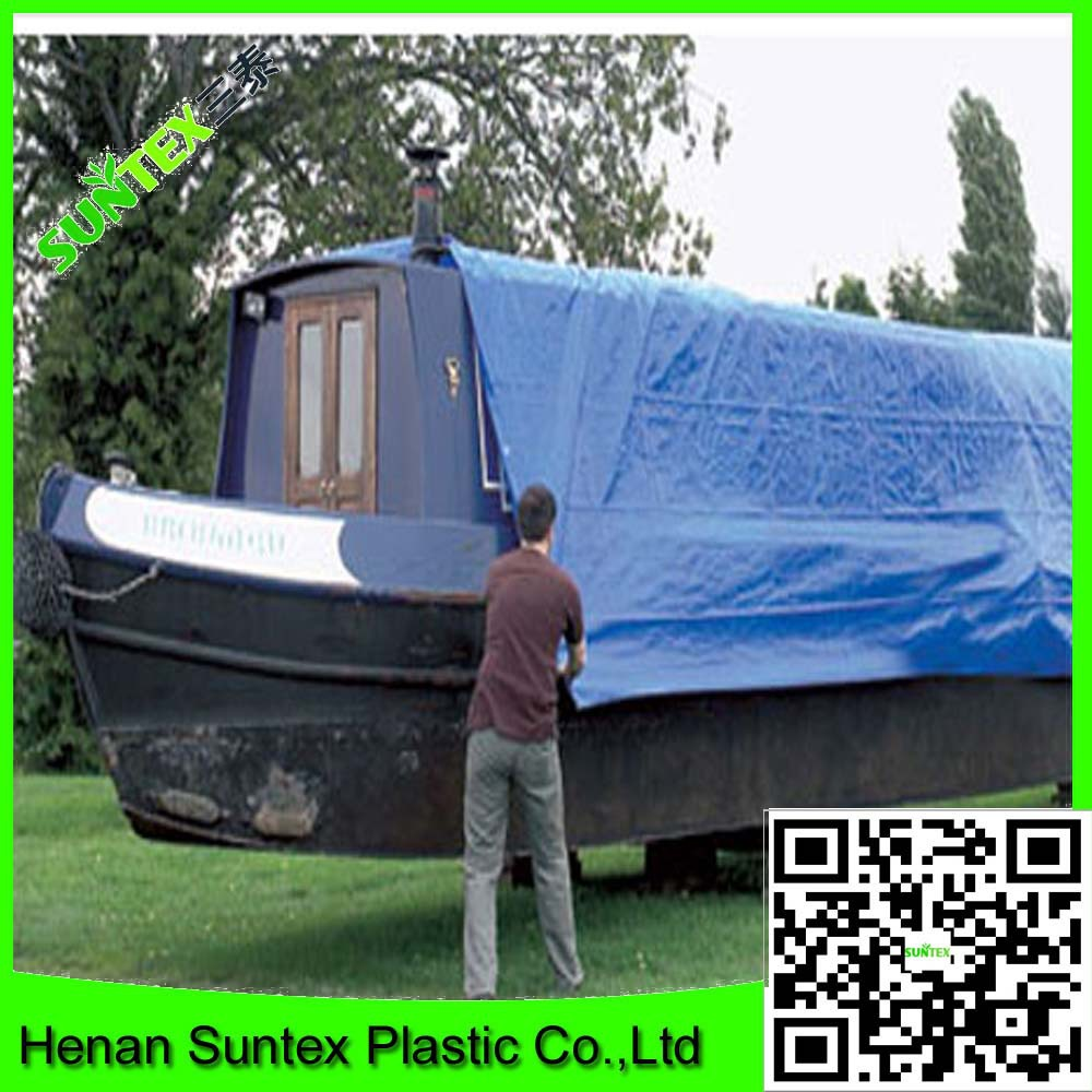 blue PE tarps Poly tarpaulin sheet canvas tarpaulin china factory supply