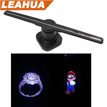 New 3d Holographic Projection Fan Light Led Effect Image Display Software  Light - Buy 3d Holographic Light,3d Fan Light,Effect Light Product on