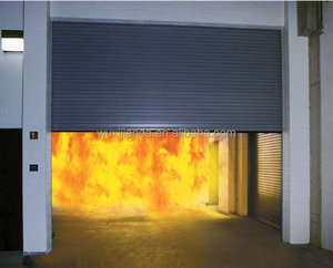 fireproof industrial garage door with CE certification