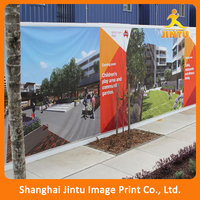 Hanging outdoor wall dsiplay vinyl flag banners custom printing design