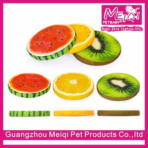 Fashion fruit summer pet sofa good cool pet beds cat beds raised dog bed