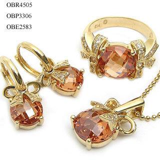 conjunto de joyas de oro fabricante de joyera