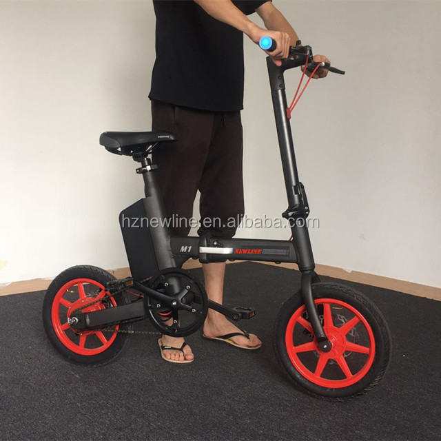 OEM 36v 250w small folding electric bike 14inch solar powered tricycle for sale