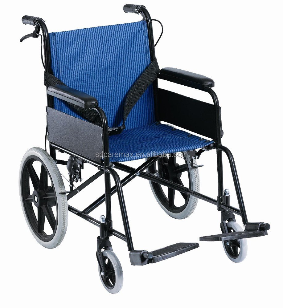 Caremax Factory supply Good price Aluminum transport chair