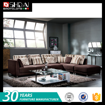 Italian Living Room Furniture Fabric Corner Sofa Set Sale G172-re ...