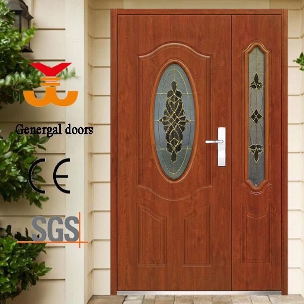 Maquetas iso9001 doble dise o de la puerta de seguridad puertas de metal para los hogares - Disenos de puertas metalicas ...