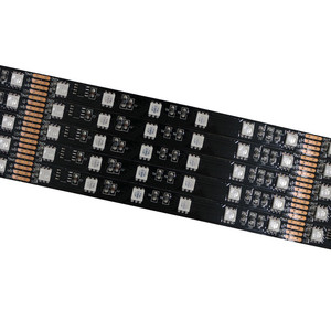 Wholesale WS2812b 2812 led strip 48leds/m outdoor 5050 dmx arduino WS2801 rgb addressable led strips