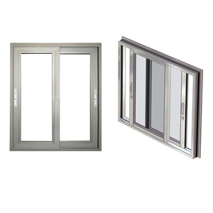 Aluk System Aluminum Door And Window Aluminum Glass Door And Window For Office