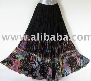 974f7283246 Woman Tie Dye Black Broomstick Long Skirt - Buy Long Broomstick ...