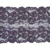 Low MOQ Nylon Spandex Rayon Lace Trim Collar For Underwear