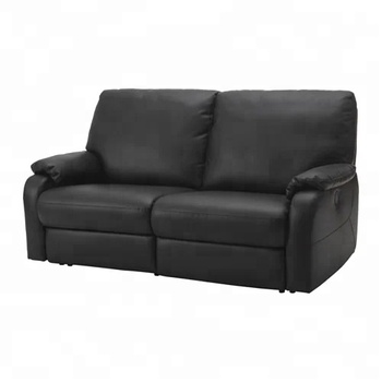Leather 2 Seater Sofa Cover Modern Style Waterproof Recling Chair ...
