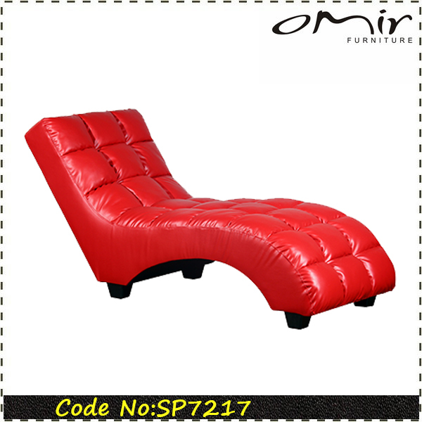 Red Leather Chaise Lounge Red Leather Chaise Lounge Suppliers and
